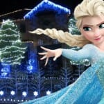 Família cria decoração fantástica em casa com luzes ao som de 'Let it Go' do filme Frozen