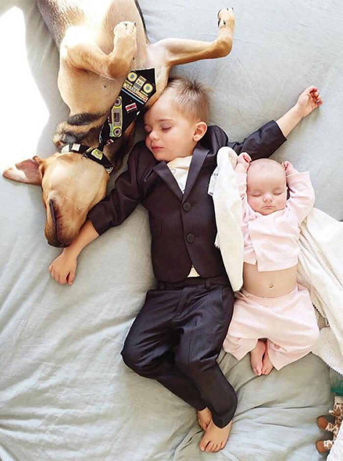 Famosa dupla de amigos dorminhocos ganha mais uma amiga dorminhoca (11 Fotos)