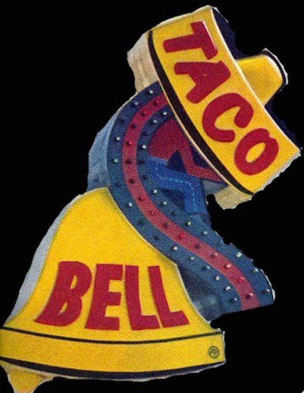 logotipo antigo Taco Bell