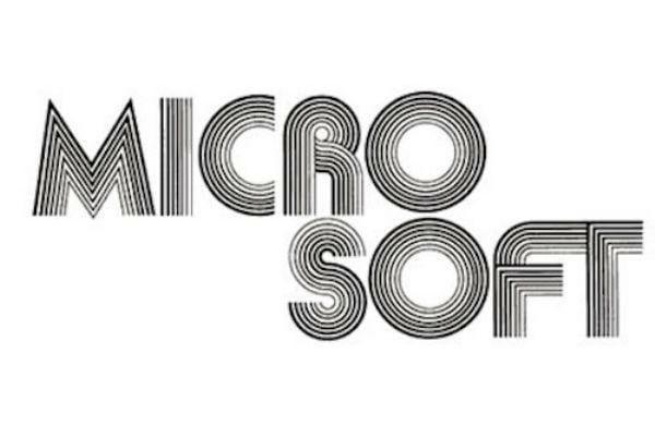 logotipo antigo microsoft