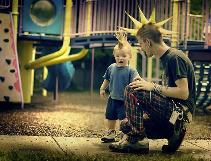 Tal pai tal filho - Parte IV! 20 Fotos legais de filhos que são a cara de seus pais!