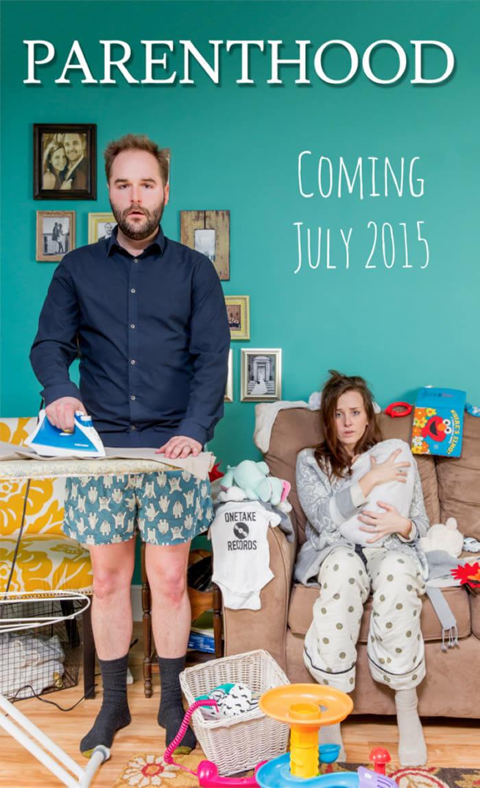 20 Maneiras criativas e engraçadas de um casal anunciar que está esperando um bebê