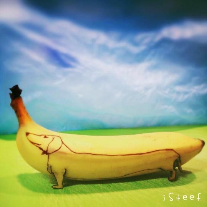 Com vocês, as incríveis esculturas feitas em bananas do artista Stephan Brusche! (20 Fotos)