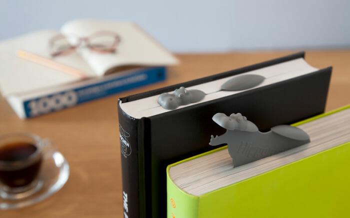 20 Marcadores de páginas criativos para apaixonados por livros