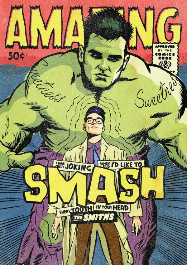 8 Astros do punk rock transformados em super-heróis pelas mãos de Butcher Billy