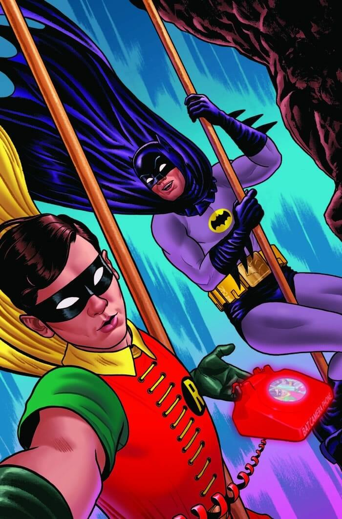 ilustracoes-super-herois-dc-comics-tirando-selfie_5