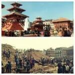 Terremoto no Nepal - Imagens comparam pontos turísticos antes e depois da destruição