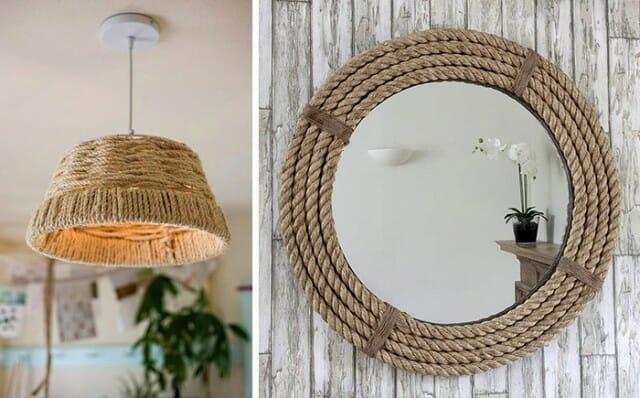 Sem grana pra decorar? Inspire-se com 5 ideias superlegais de objetos decorados com cordas