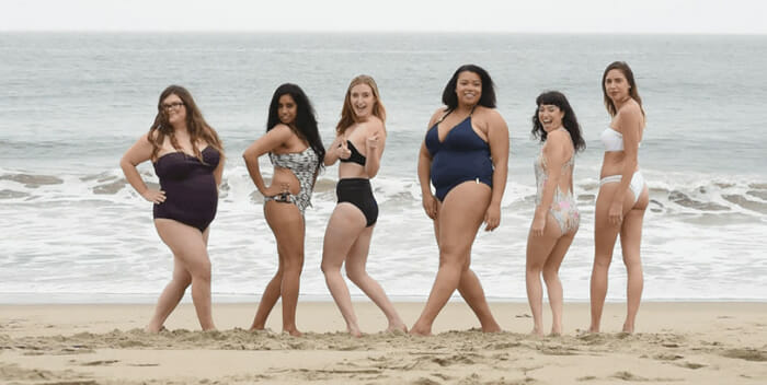 Série de fotos troca modelos famosas da Victoria's Secret por mulheres comuns