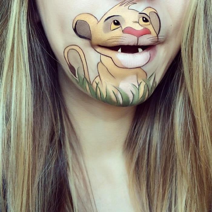 18 Desenhos superlegais de personagens famosos feitos na boca!