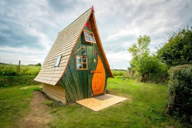 18 Casas curiosas para alugar pelo Airbnb e garantir as férias dos seus sonhos