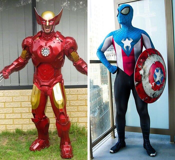 Os 25 mashups de cosplays mais legais que já apareceram em feiras e eventos