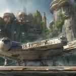 Disney irá lançar dois parques temáticos Star Wars onde você poderá andar de Millennium Falcon