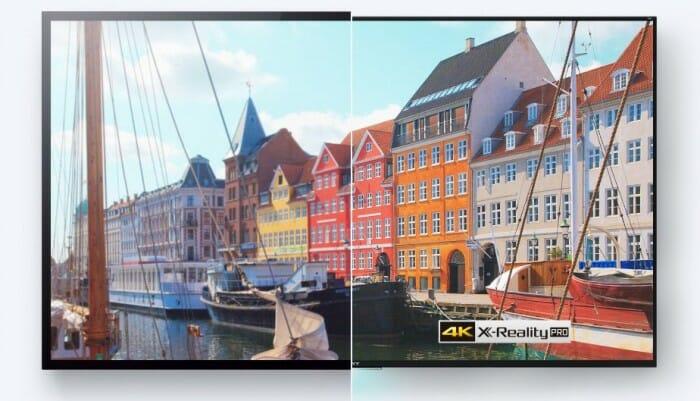 Televisores SONY 4K - A diferença é nítida! Clique para ampliar.