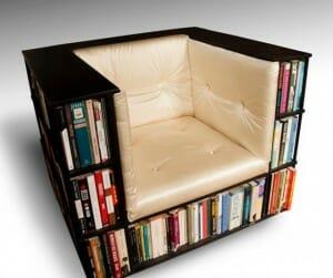 29 Estantes e prateleiras de livros criativas feitas para quem adora ler