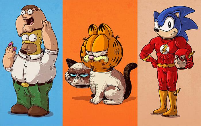 personagens-famosos-desmascarados