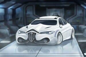Como seria se os personagens de Star Wars inspirassem carros de luxo
