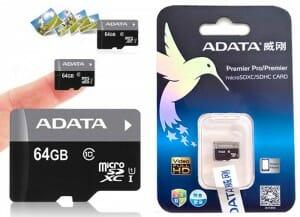 Review - Cartão microSDXC Premier ADATA de 8GB, 16GB, 32GB, 64GB e 128GB