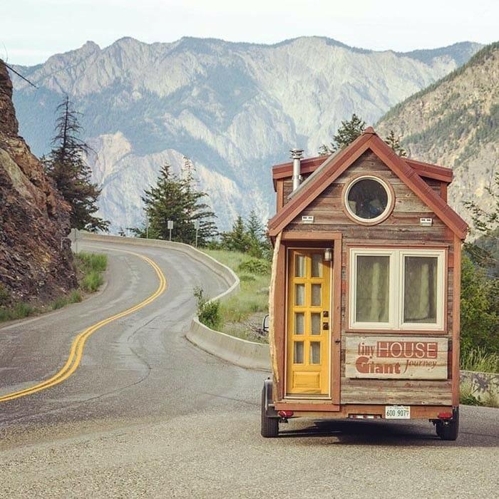 Esse casal colocou rodas em sua casa para realizar seus sonhos
