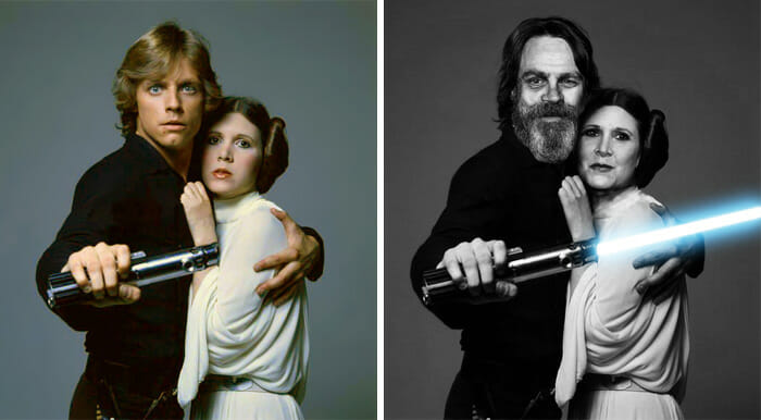 atores-star-wars-antes-depois