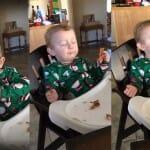 Pai filma seu bebê experimentando bacon pela primeira vez. Veja o resultado