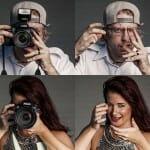 E se... tirássemos as câmeras dos fotógrafos? Sessão de fotos revela como eles ficariam