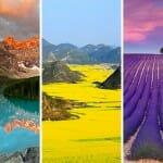 Os 20 lugares mais coloridos que existem no planeta terra
