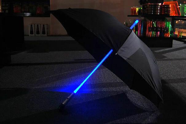 Guarda-chuva Sabre de Luz Star Wars