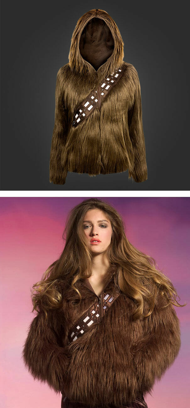 Blusa de frio Chewbacca