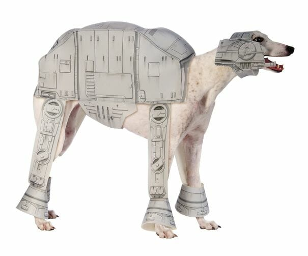 Fantasia para cachorro AT-AT Star Wars