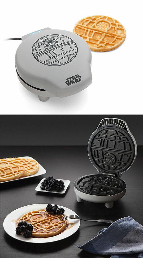 Máquina de Waffles Death Star