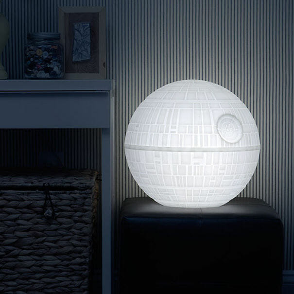 Abajur Death Star