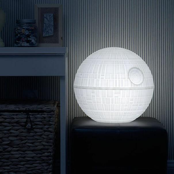Abajur Death Star
