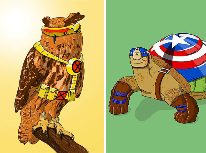 super-herois-animais
