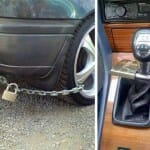 14 Sugestões criativas de gambiarras para impedir que seu carro velho seja roubado