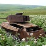 33 Belas imagens de tanques de guerra que perderam a batalha contra a natureza