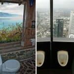 27 Banheiros com as vistas mais incríveis que existem no planeta Terra