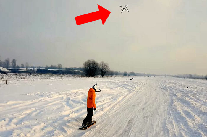 droneboarding