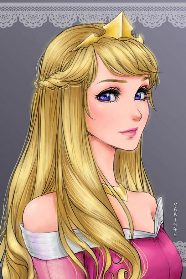 princesas-disney-personagens-anime_13