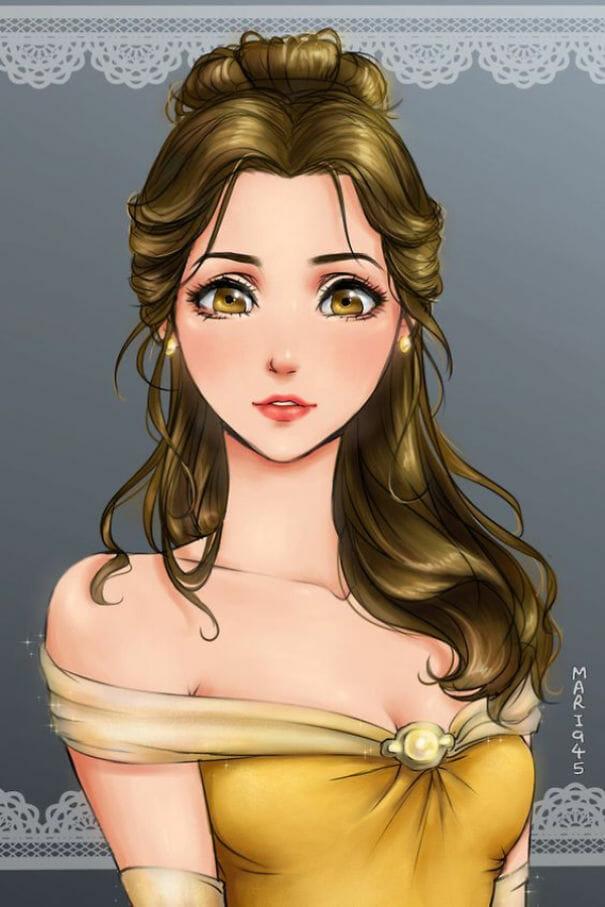 princesas-disney-personagens-anime_15