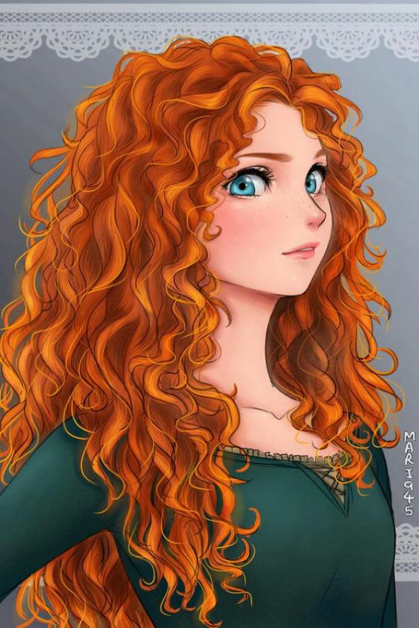 princesas-disney-personagens-anime_2
