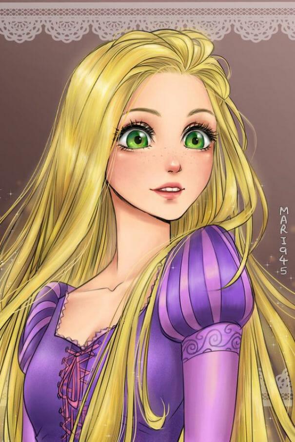 princesas-disney-personagens-anime_8