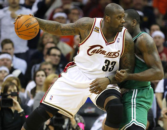Shaquille O'Neal está entre os atletas mais bem pagos da história da NBA. Foto: Getty Images