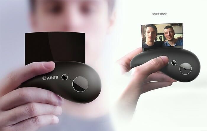 Câmeras Canon futuristas revelam como talvez serão as selfies no futuro