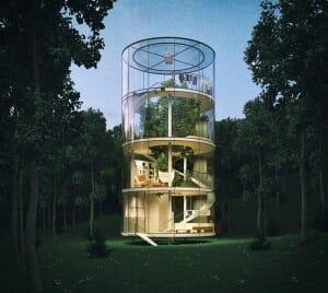 A Casa na Árvore mais incrível que você verá em sua vida