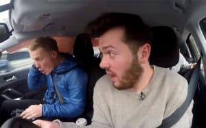 VÍDEO: Câmera GoPro flagra interior de veículo durante acidente de trânsito