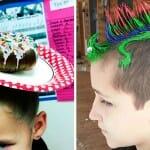 Os 38 penteados e cortes de cabelo mais legais e malucos do Dia do Cabelo Louco nos EUA