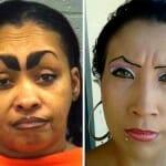 As 33 sobrancelhas femininas mais horríveis da internet