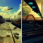 """""""O Passado no Futuro"""" - Imagens incríveis mostram como talvez serão as paisagens no futuro"""