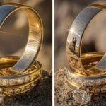Fotógrafo Criativo faz Sucesso Utilizando Reflexo nas Alianças ao Fotografar Casamentos